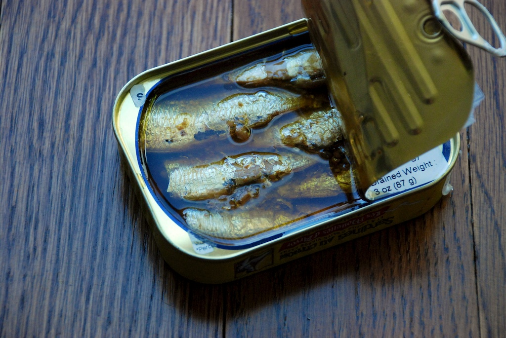 Sardines in a can!