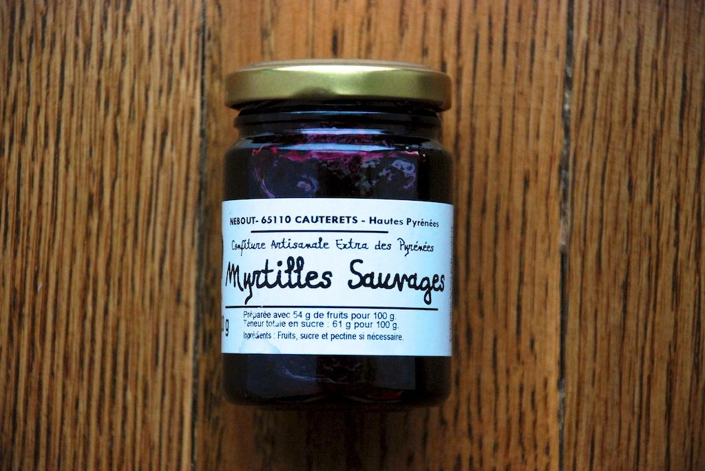 Wild berry jelly