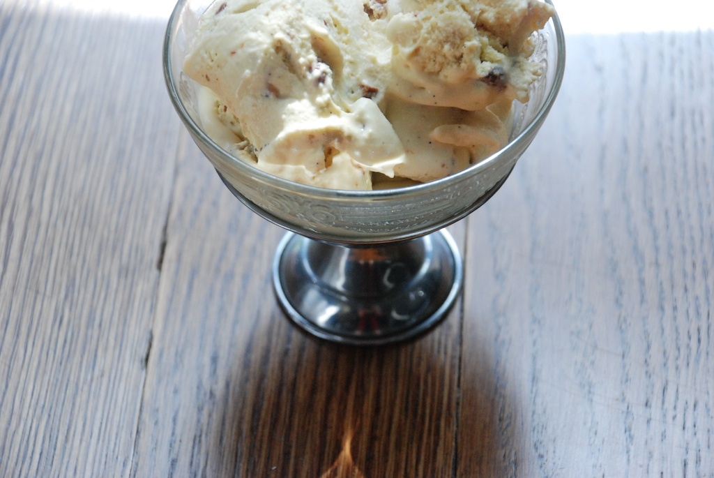 Maple Ice Cream With Tipsy Raisins And Maple-Candied Cashews Recipes ...