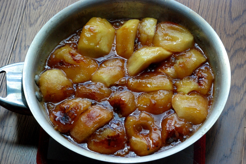 Tartin apples