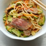 Cold Sirloin Sesame Noodles