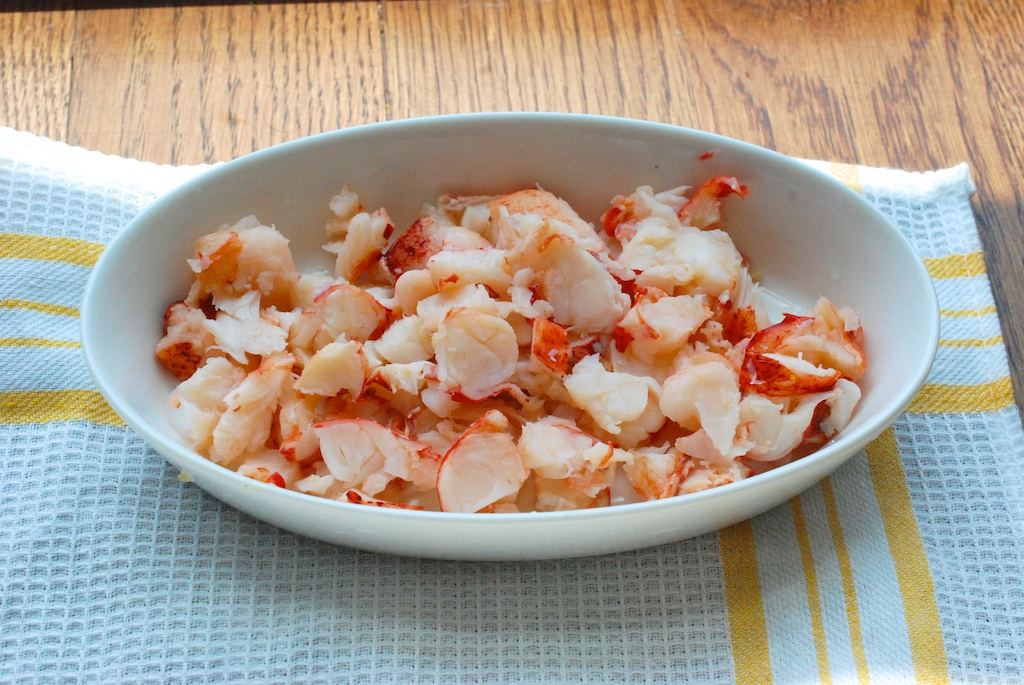Diced lobster