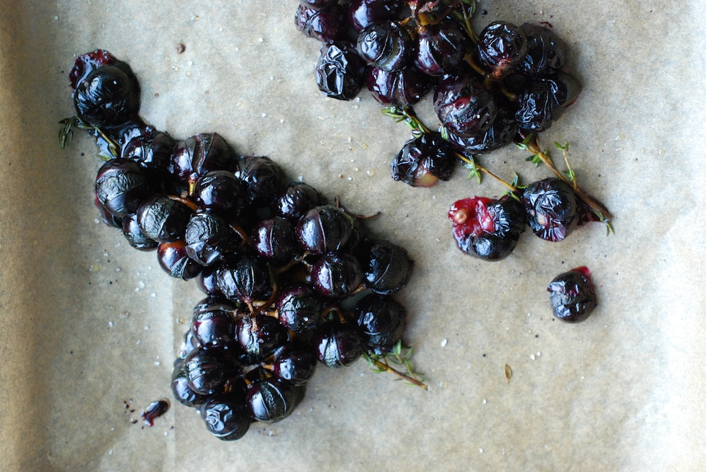 roasty Concord grapes