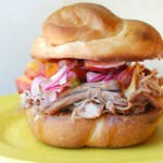 Pulled Pork with Stone Fruit Salsa