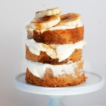 Banana Cake with Swiss Cream Cheese Frosting