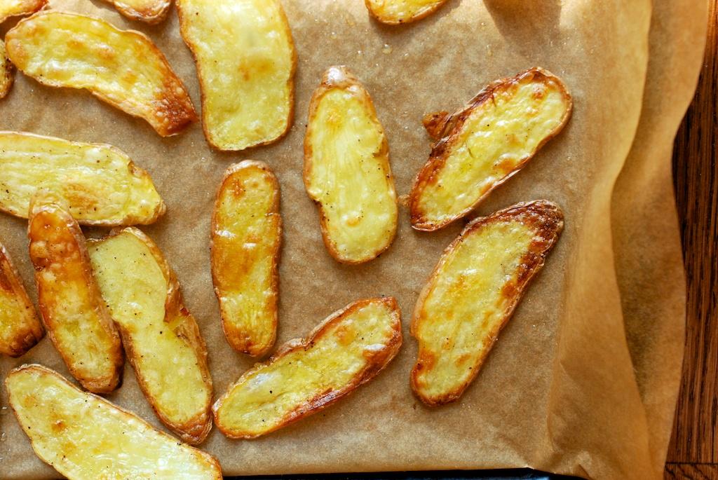 crispy potato slices