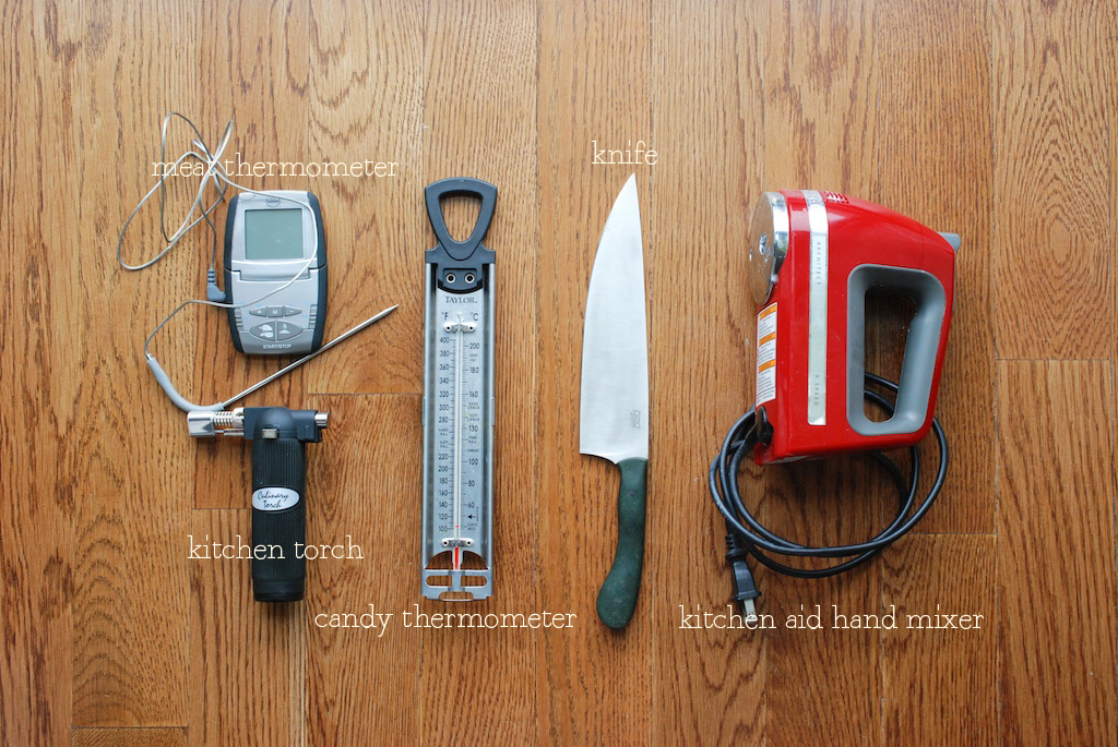 tools for the serious cook