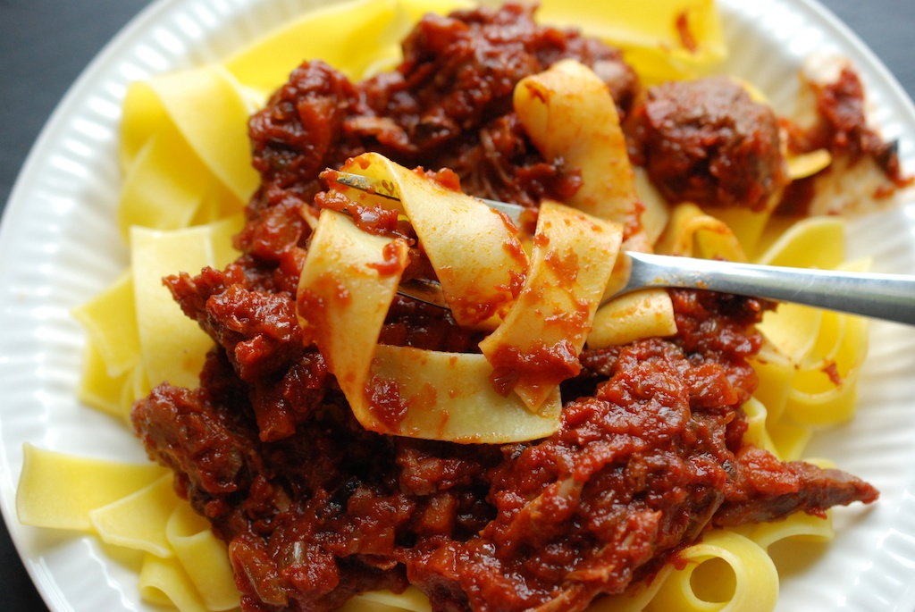 lamb ragu