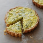Spring Onion-and-Herb Tart