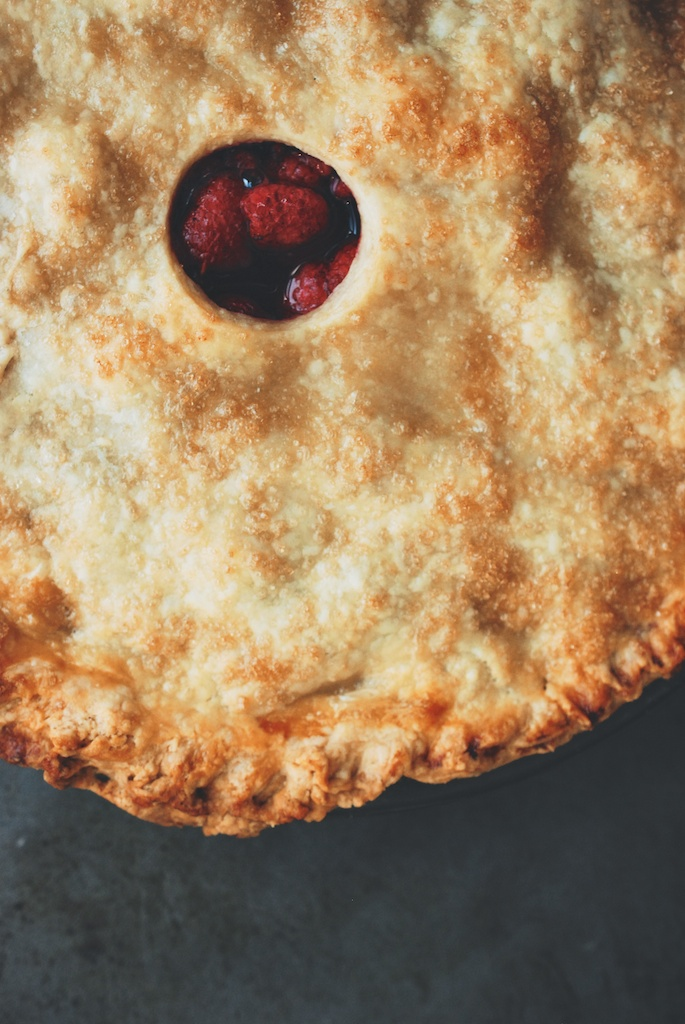 raspberry pie, vertical