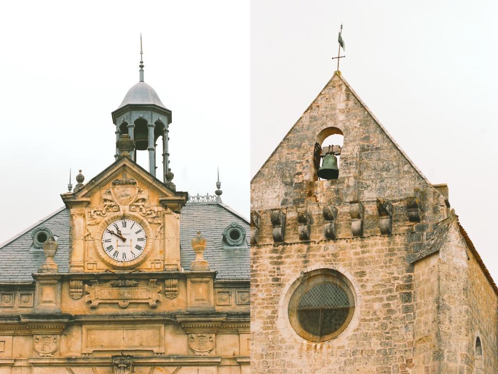 Angoulins town hall, ancient Angoulins church