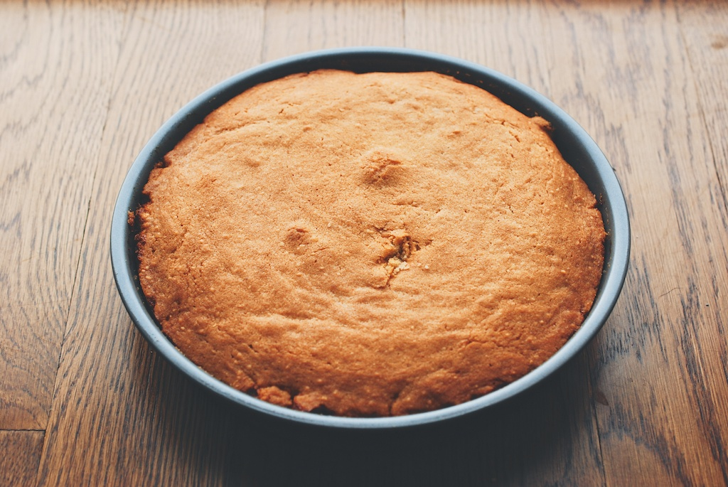 cake, out of the oven
