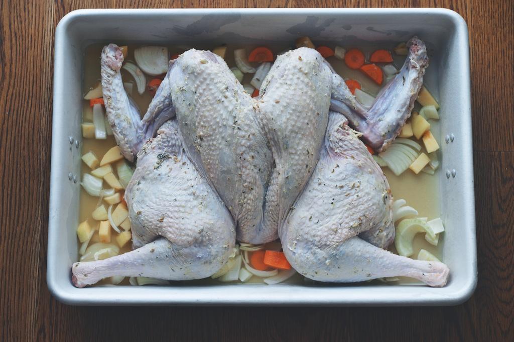 turkey, pre-oven
