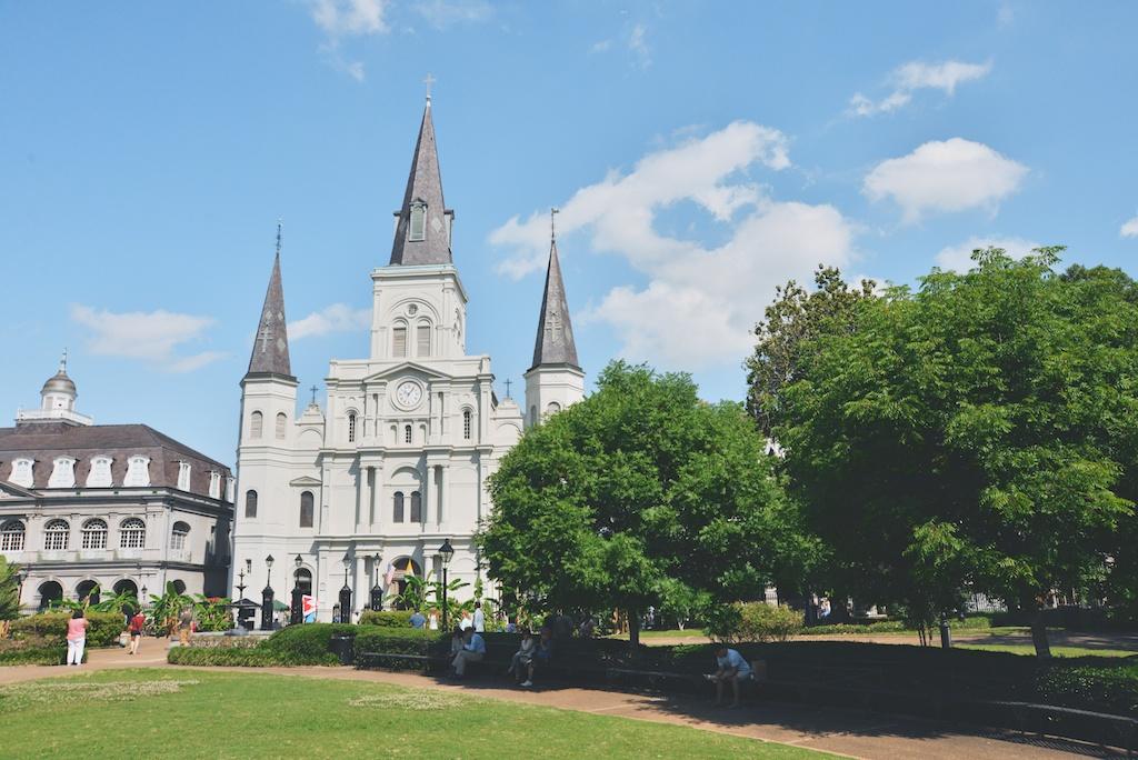 Plaza de Armas, New Orleans