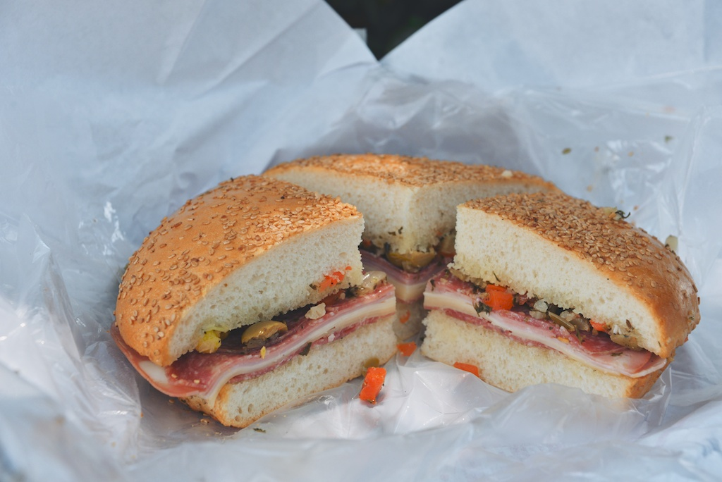 Muffaletta at Central Grocery Co.