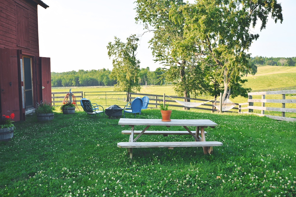 the farmstay at Kinderhook Farm