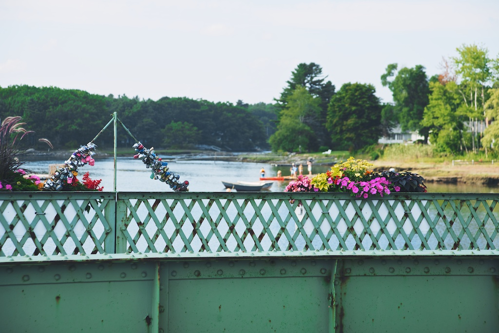 The bridge in Kennebunkport