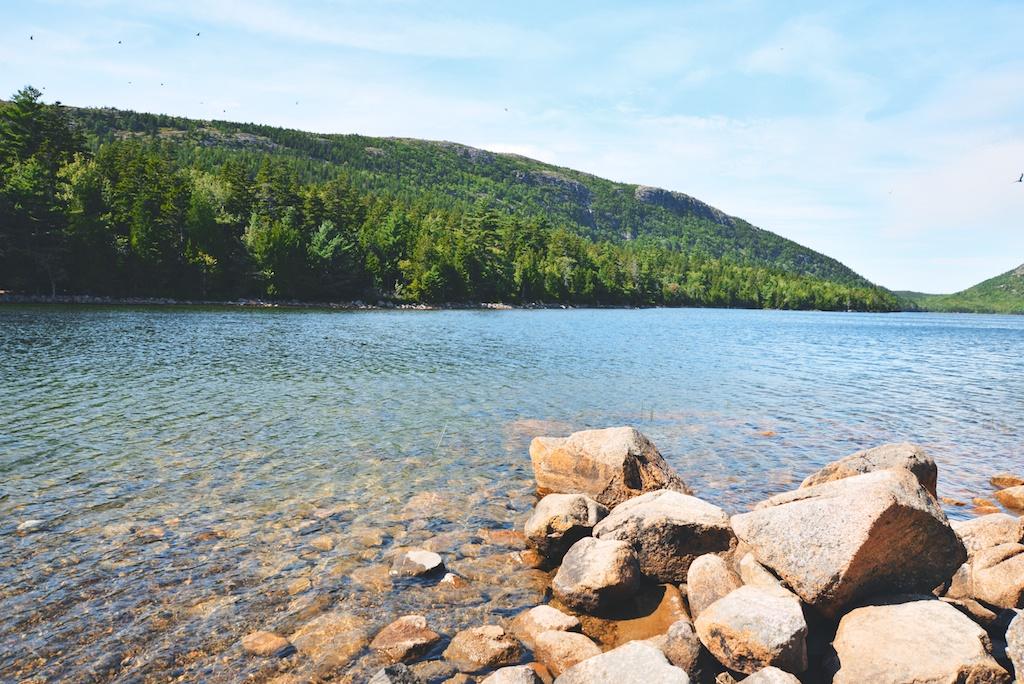 Jordan Pond in Acadia