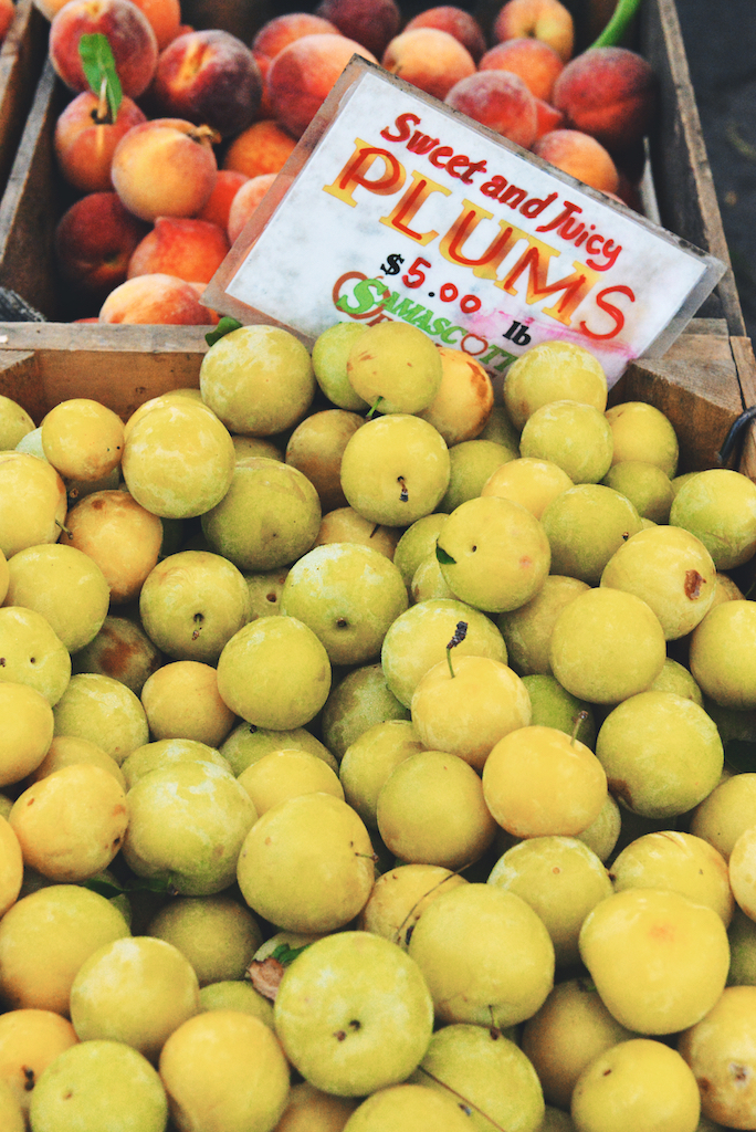 Hudson, NY farmers' market