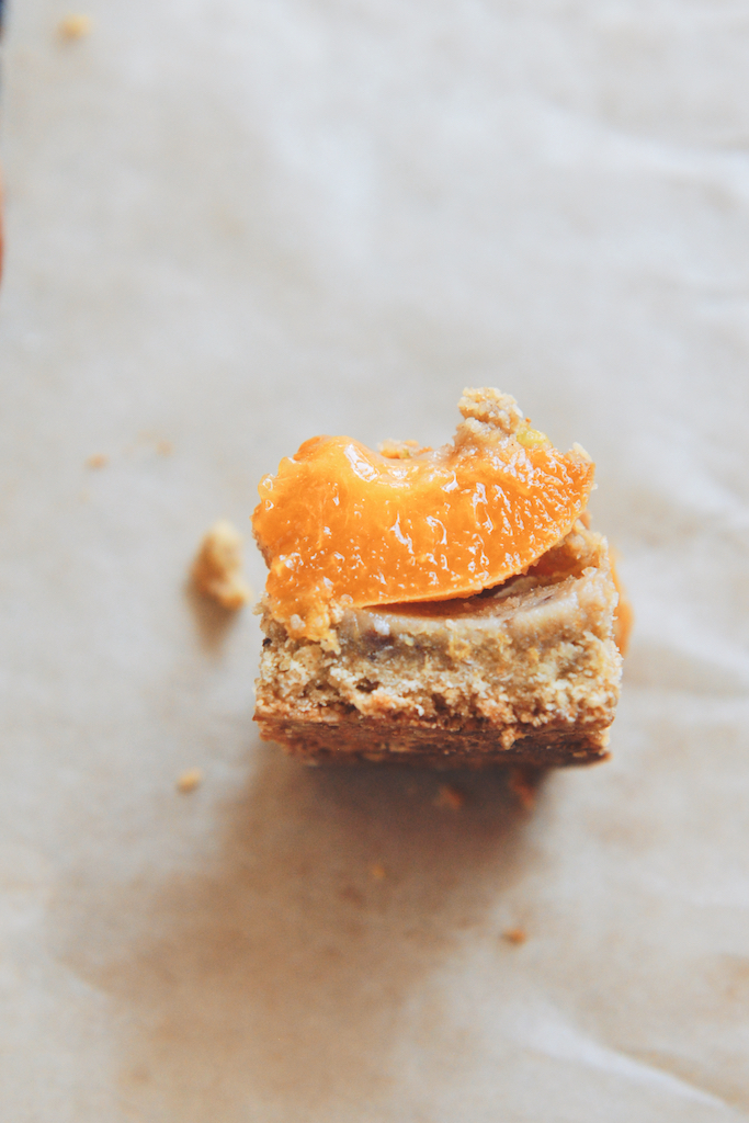 Apricot and Pistachio-Oat Bars