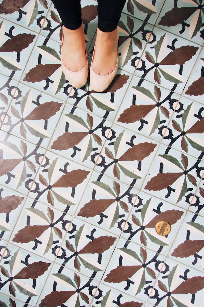 american trade hotel tile, panama city