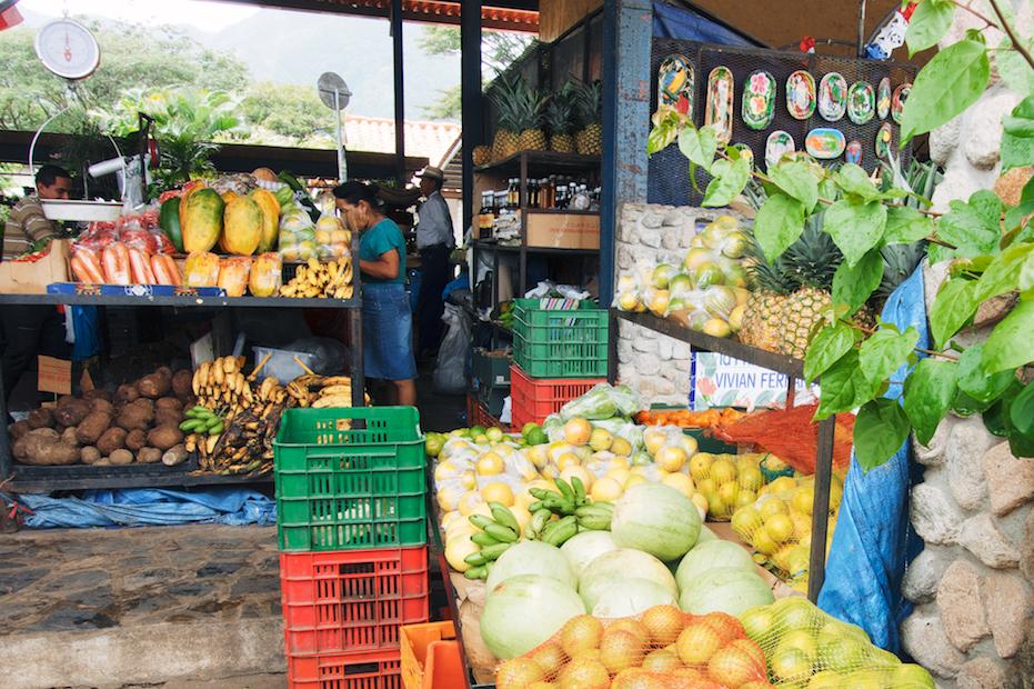 fruit market, Panama