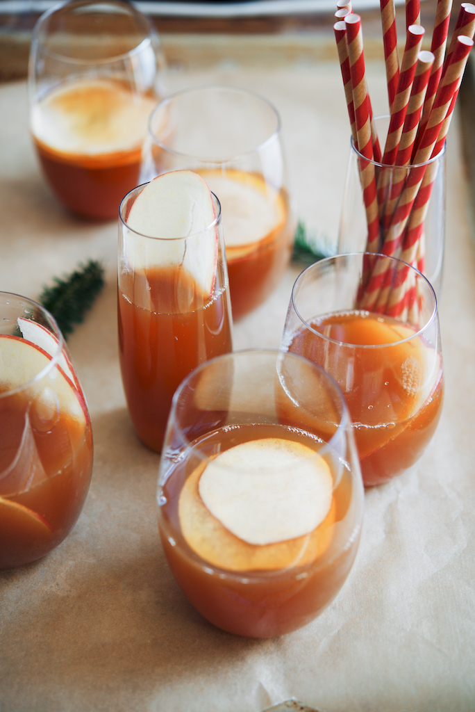 Vanilla Roobios Apple-Rum Punch