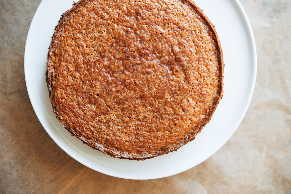 Nigel Slater's Cake of Roasted Hazelnuts, Muscovado, and Coffee