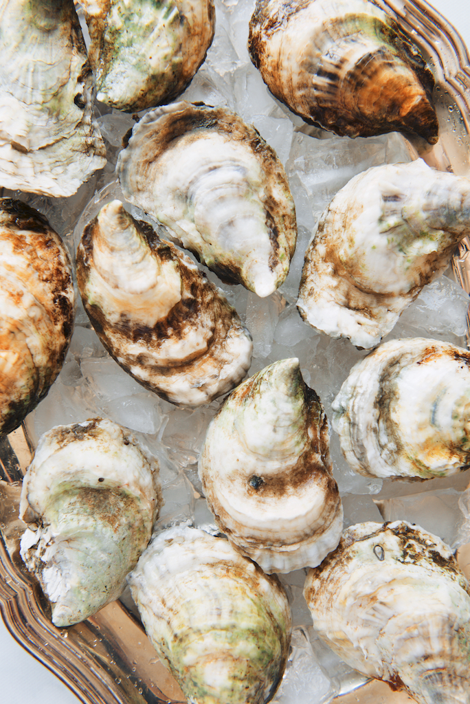... , Garlic and Hot Honey-Butter Roasted Oysters | The Roaming Kitchen