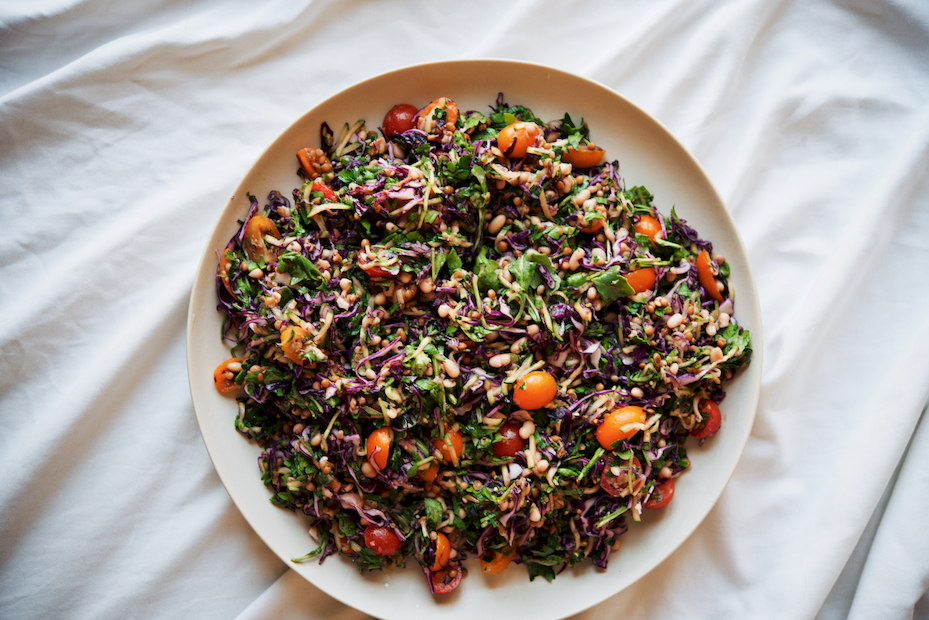 Edge of Summer Bean and Lentil Salad