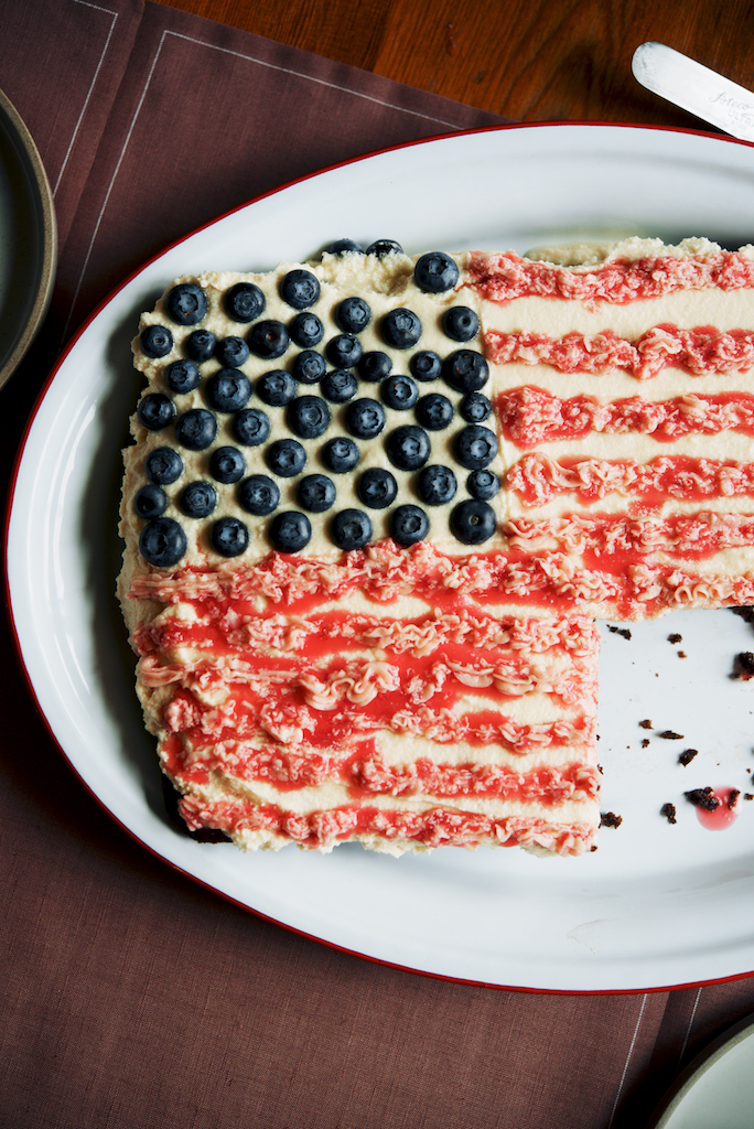 Forth of July Cake in France  The Roaming Kitchen